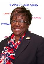 Patricia McClure, Ladies Aux President2