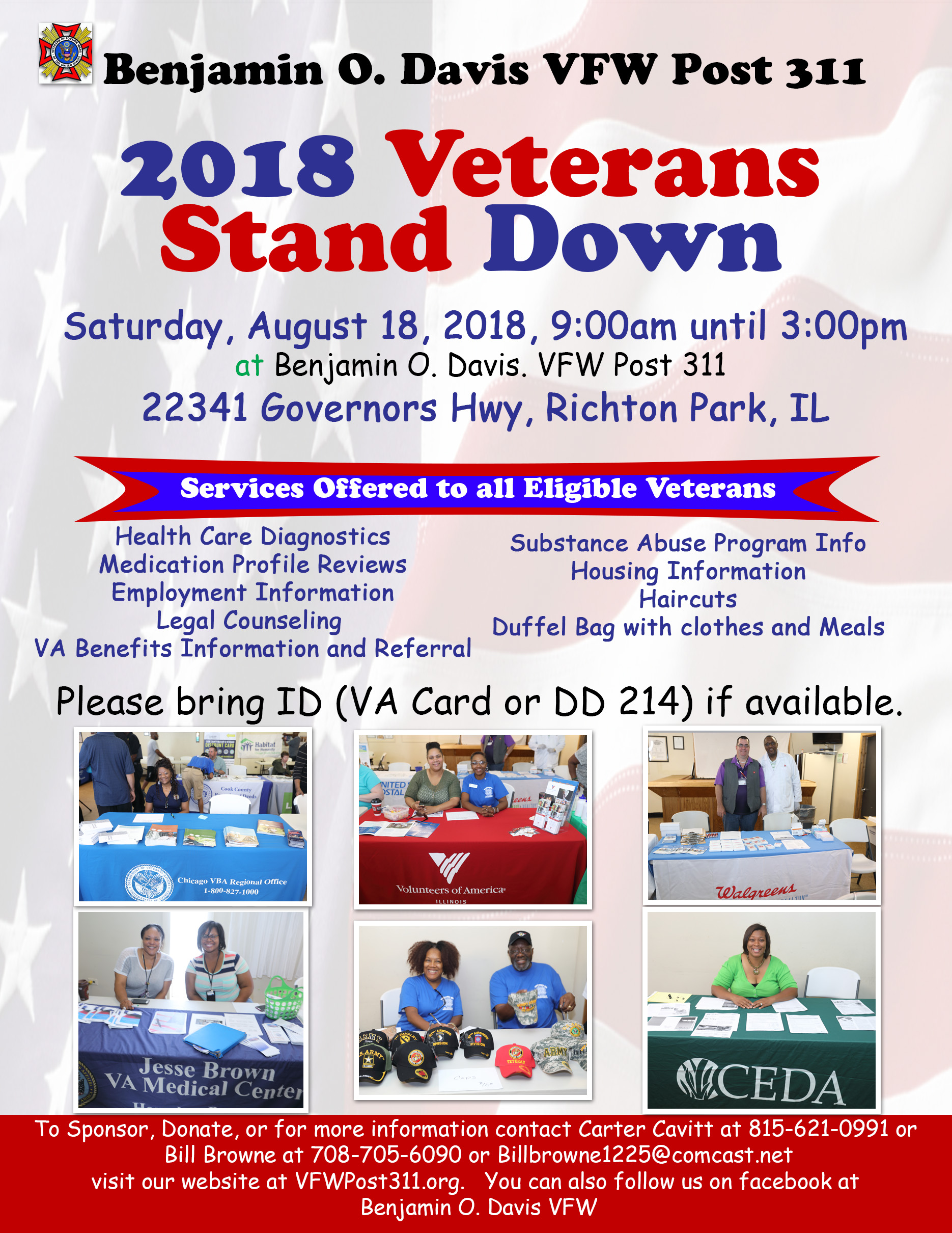 VFW Post 311 Veterans Stand Down 2018 @ VFW Post 311 | Richton Park | Illinois | United States